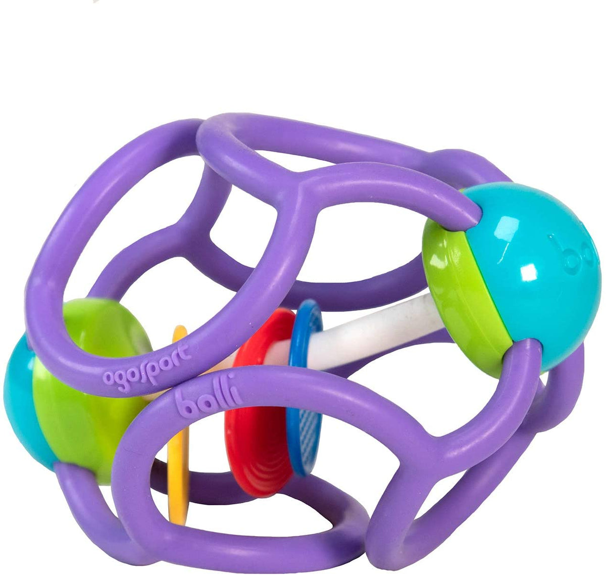 OgoBolli Squishy Rattle Ball