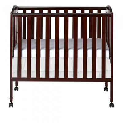 Dream On Me 3 in 1 Folding Portable Crib Espresso