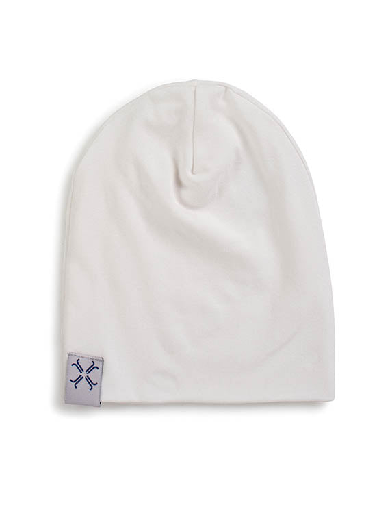 Jacqueline & Jac Infant Beanies Natural White