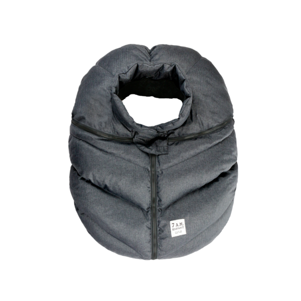 7AM Car Seat Cocoon Heather Grey