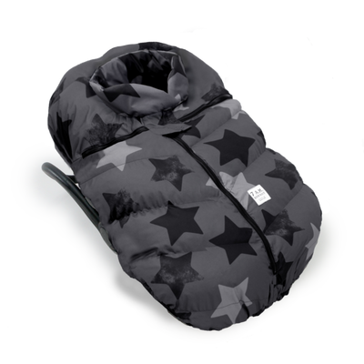 7AM Car Seat Cocoon Prints Stella