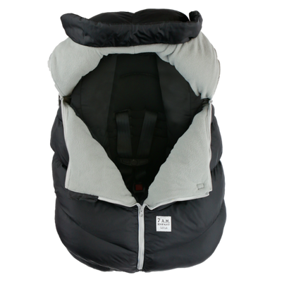 7AM Car Seat Cocoon Metallic Lilac