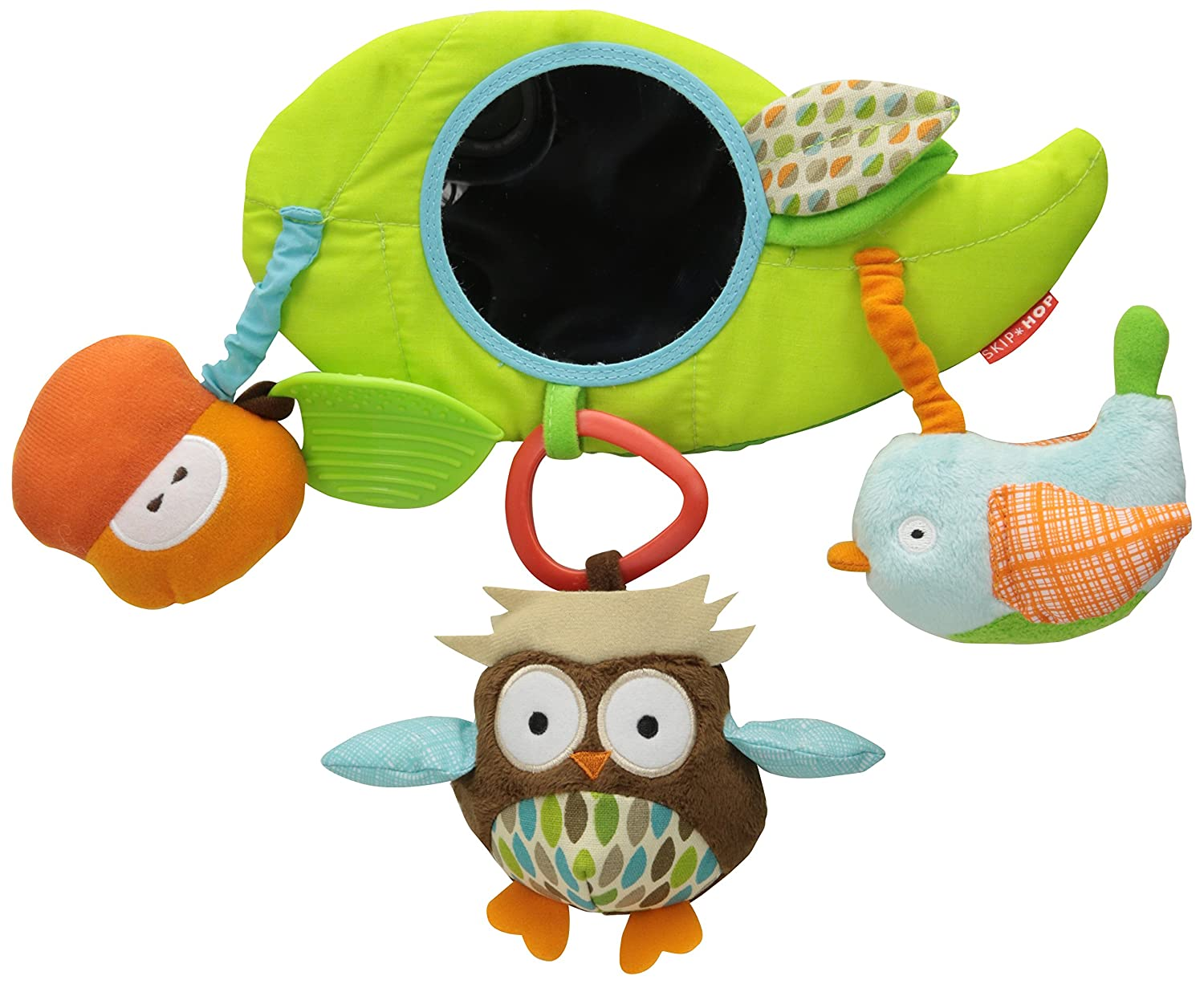 Skip Hop Baby Treetop Friends Wise Owl Stroller Bar Activity