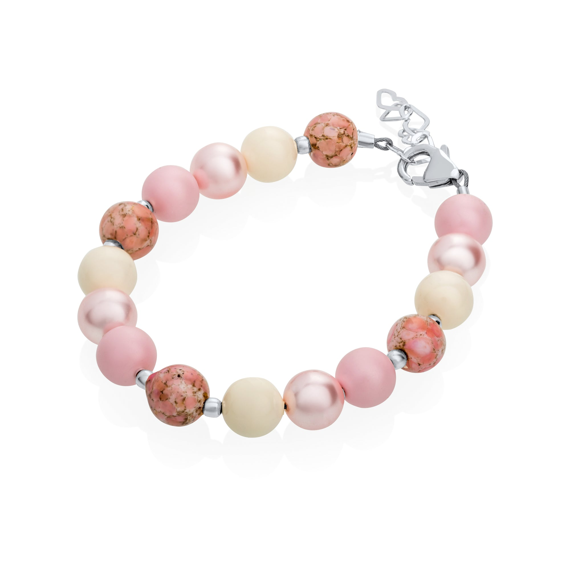 Crystal Dream Pink Shades Bracelet