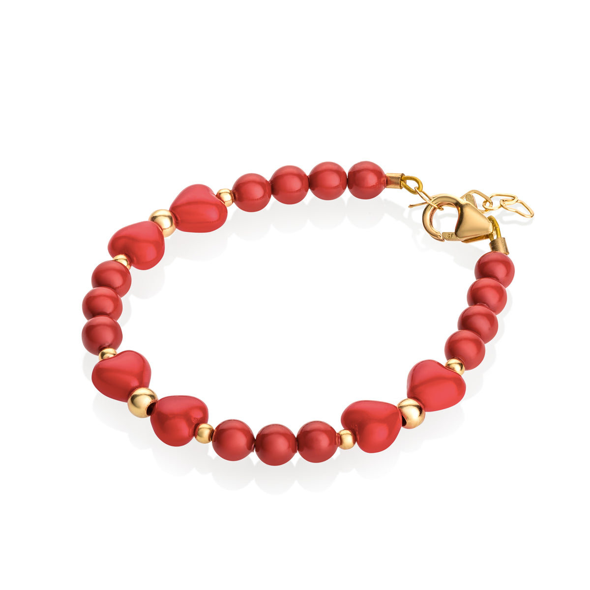 Crystal Dream Red Bow Bracelet