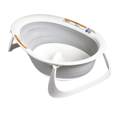 Boon Grey Naked Collapsible Tub