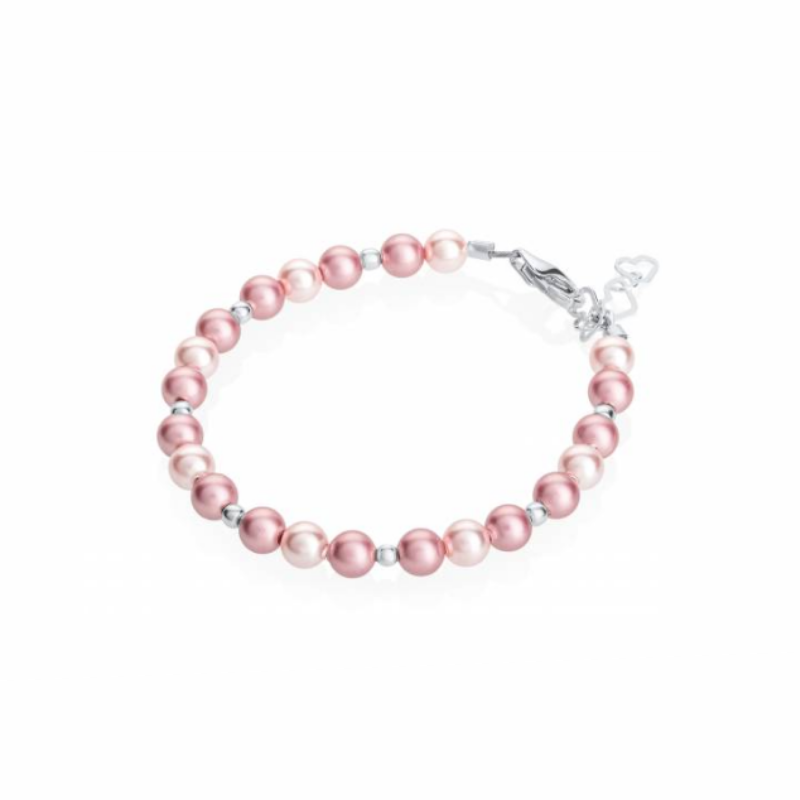 Pink and Rose Pearl Bracelet