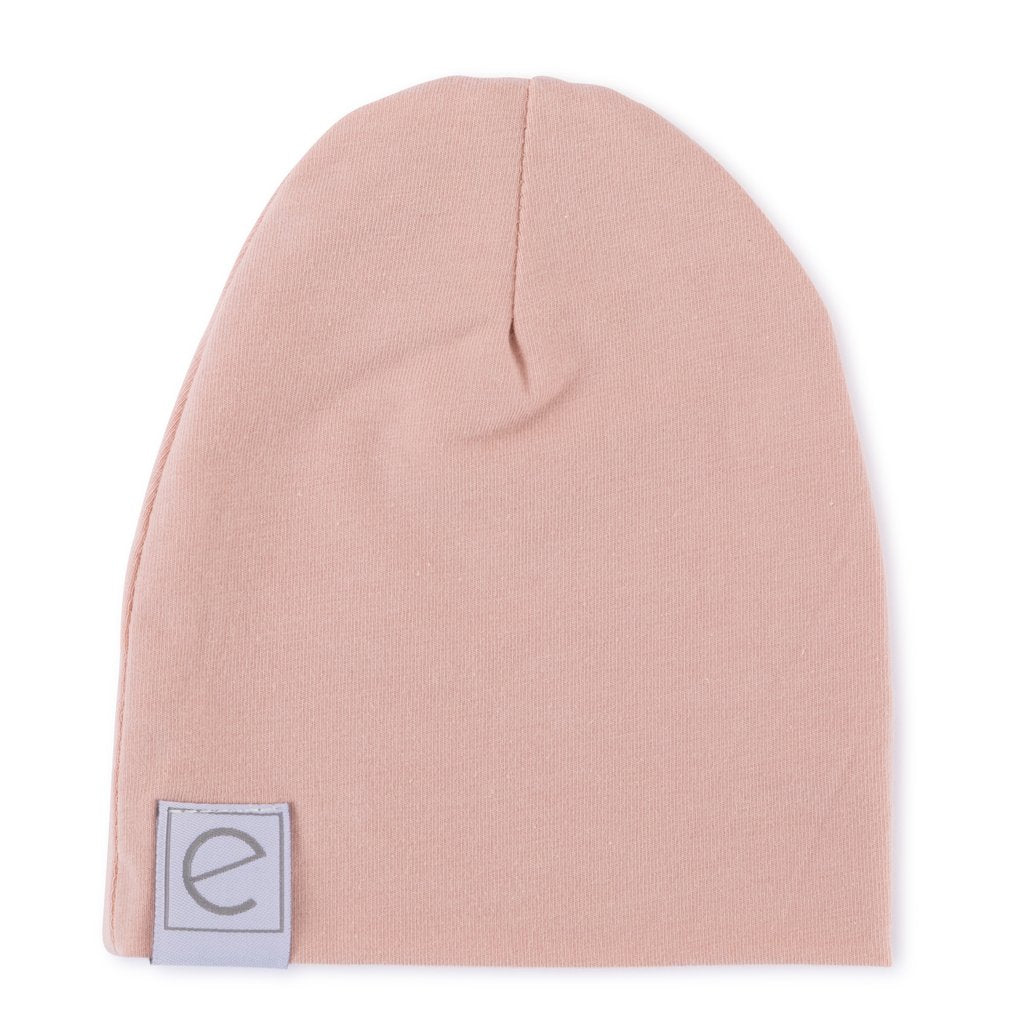 Ely's & Co Jersey Cotton Beanie Hat - Pink