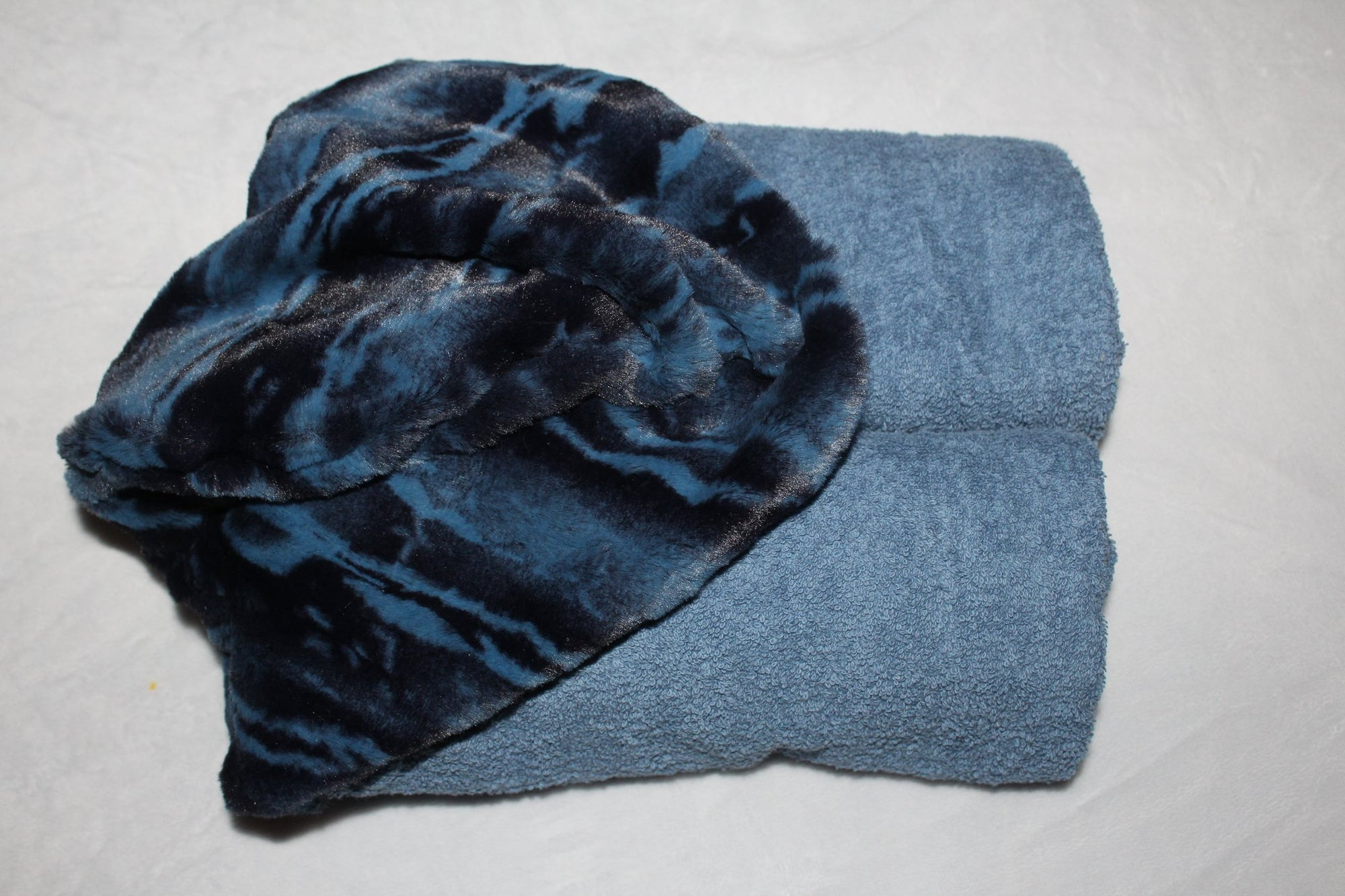 Zandino Archie Chambray Oversized Hooded Towel Collection