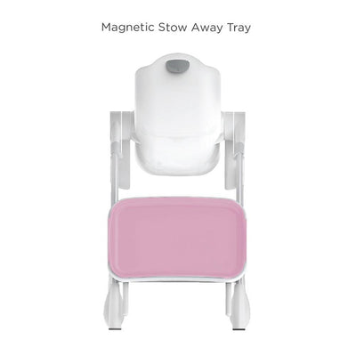Oribel Cocoon High Chair - Rose Meringue