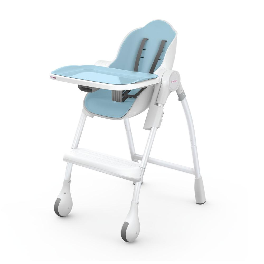 Oribel Cocoon High Chair - Blue Raspberry Marshmallow