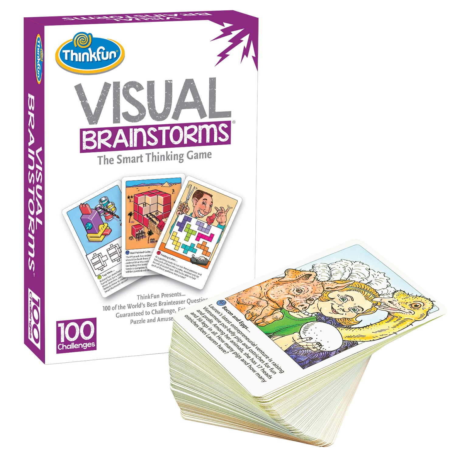 Visual Brainstorms by Thinkfun