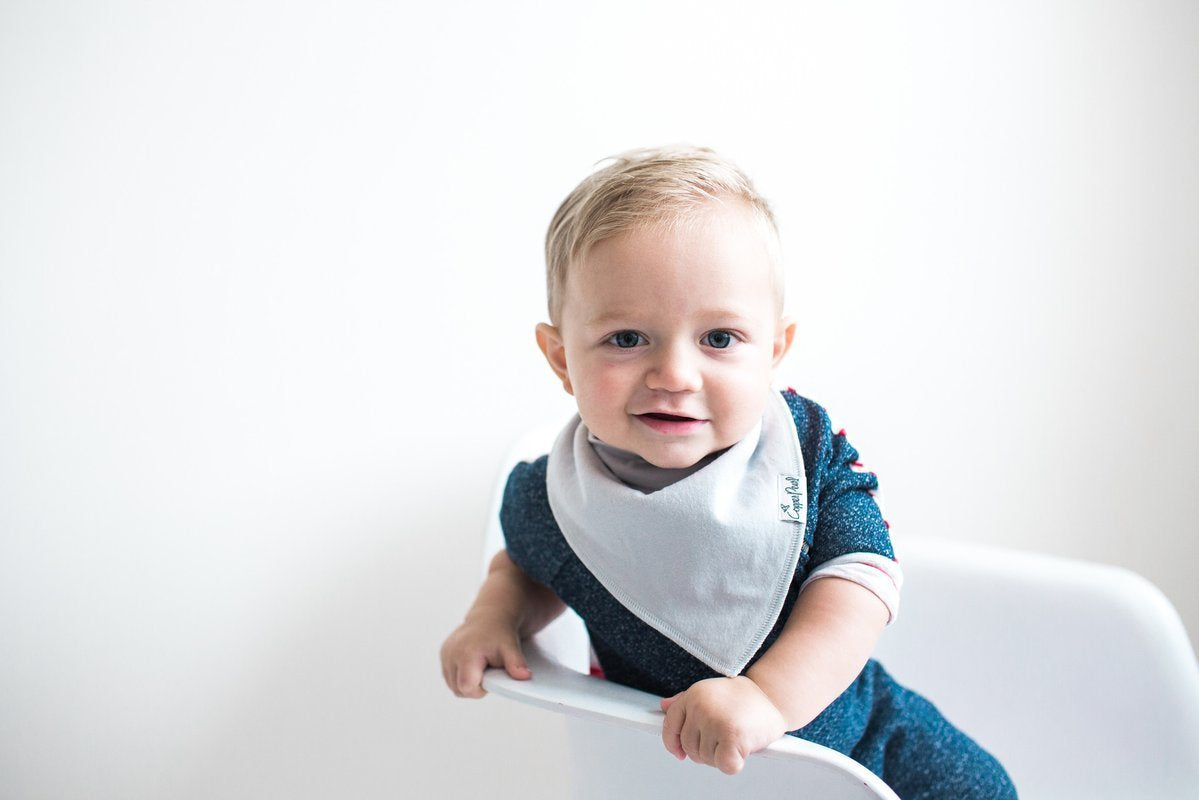 Copper Pearl Baby Bandana Bibs Oxford