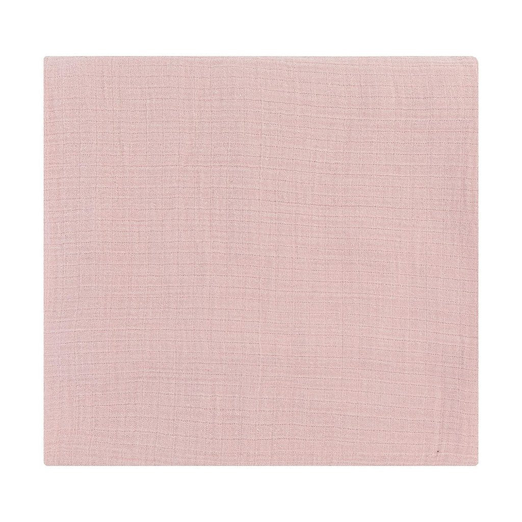 Ely's & Co Cotton Muslin Swaddle Blanket - Petal Pink