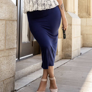 Sherrise Long Pencil Skirt