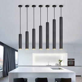 Sleek Cylinder Pendant