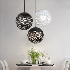 Hollow Abstract Pendant Light