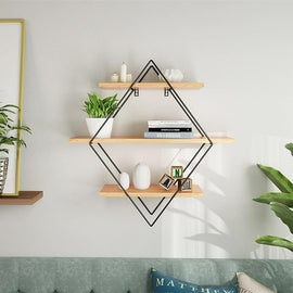 Multi-Tier Decorative Wall Storage