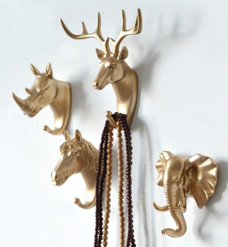 Animal Tribute Coat Hooks