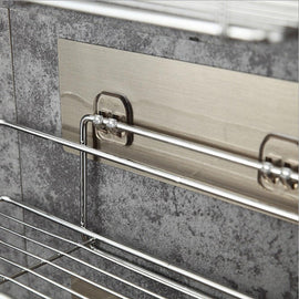 Stainless Steel Bathroom Shelf