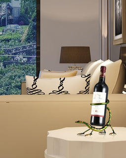 Gecko Wine Holder