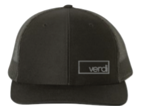 Black Verdi Hat