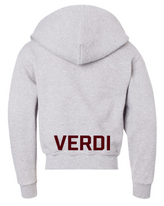 Youth Verdi Zip Fleece Hoodie