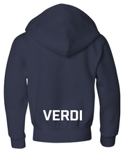 Load image into Gallery viewer, Youth Verdi Zip Fleece Hoodie