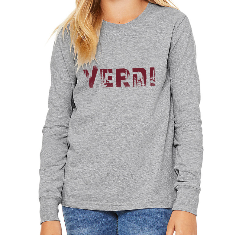 Youth Verdi Long Sleeve Tee
