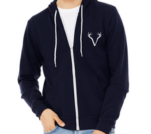 Load image into Gallery viewer, Adult Verdi Zip Fleece Hoodie