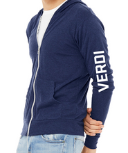 Load image into Gallery viewer, Light Weight Verdi Zip Hoodie