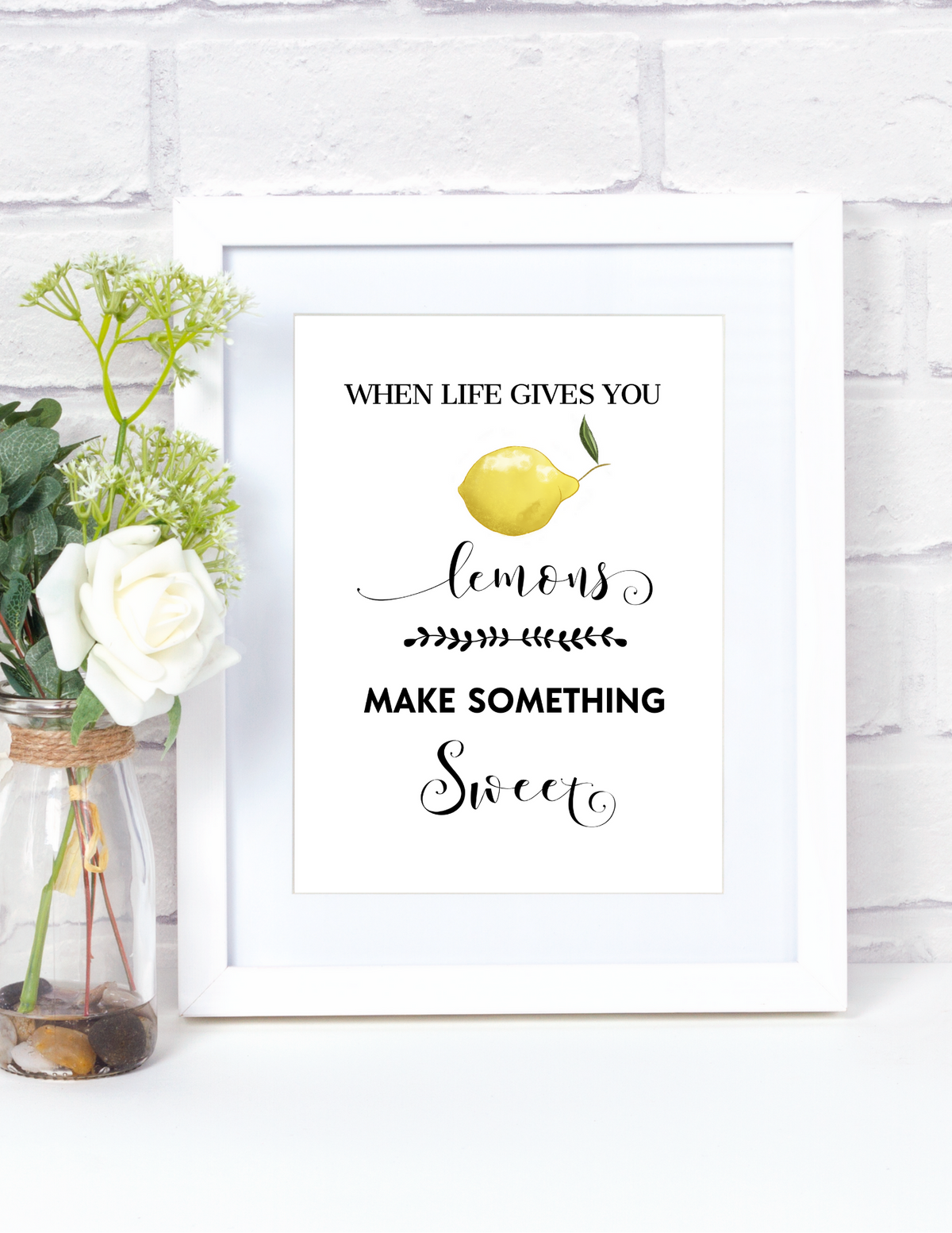Kitchen Farmhouse Wall Art {Printable Digital Art}