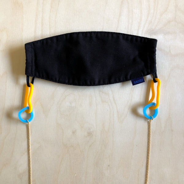 Flate Mask Chain – Yolk + Sky
