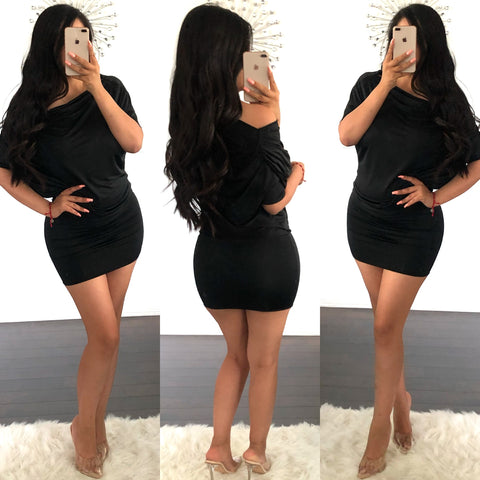 Cindy black dress