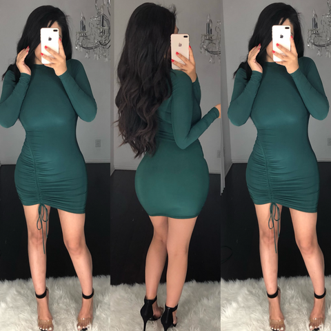 Sandy Green Dress
