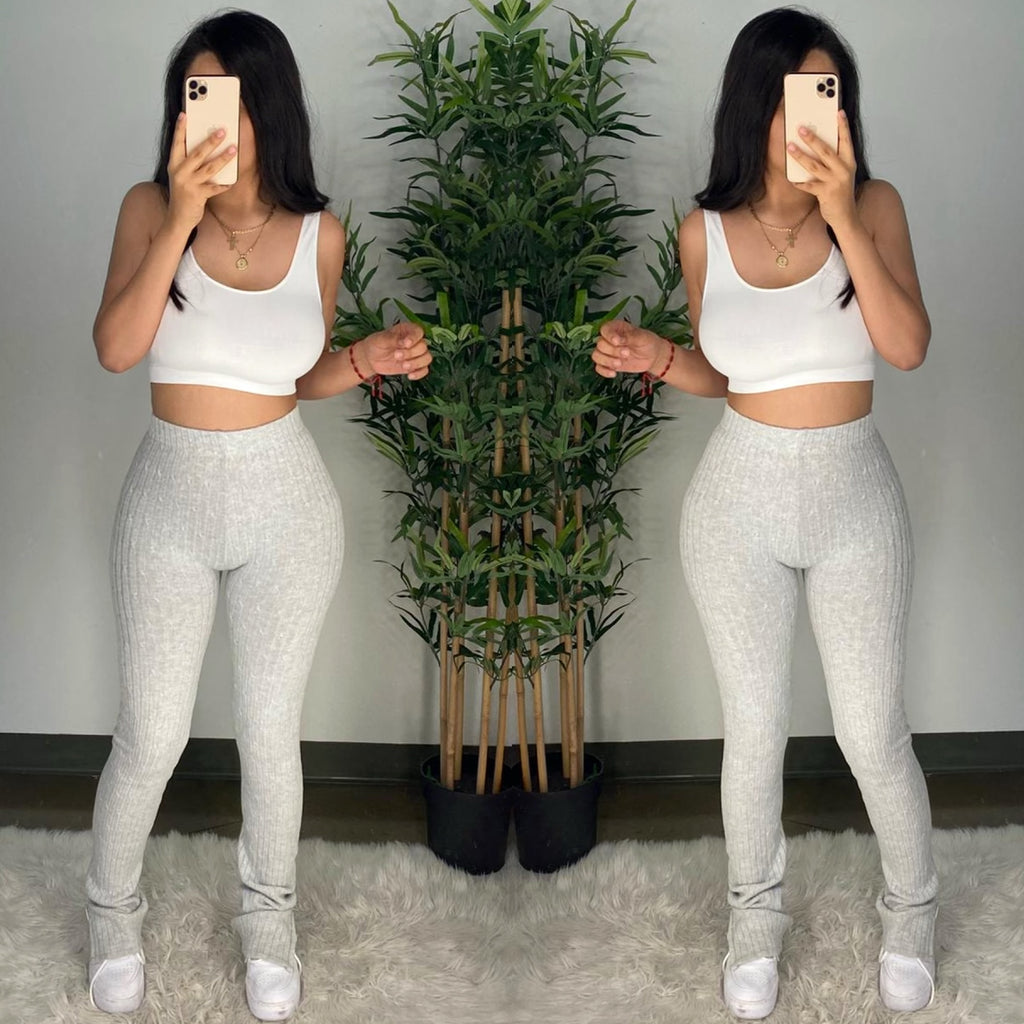 Talin (Heather Grey) Pants