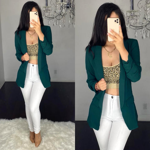 Yarazet (Hunter Green) Blazer