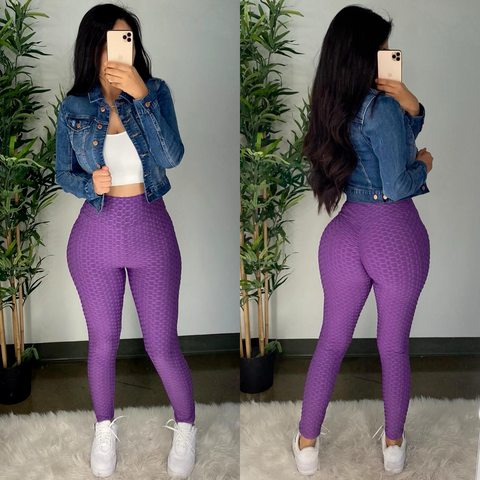 Anti-Cellulite (Purple) Leggings