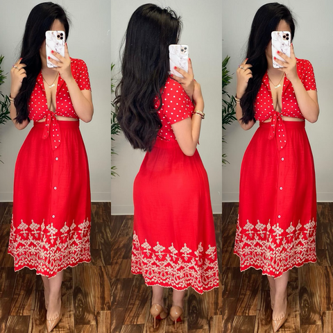 Constance (Red) Dress