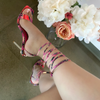 Vita Snake Multicolored Heel