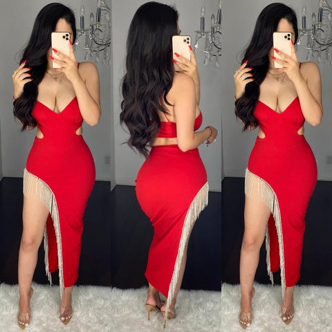 Cassy (Red) Dress