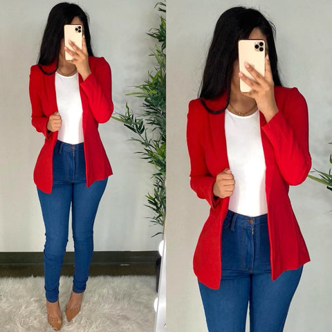 Mateo (Red) Blazer