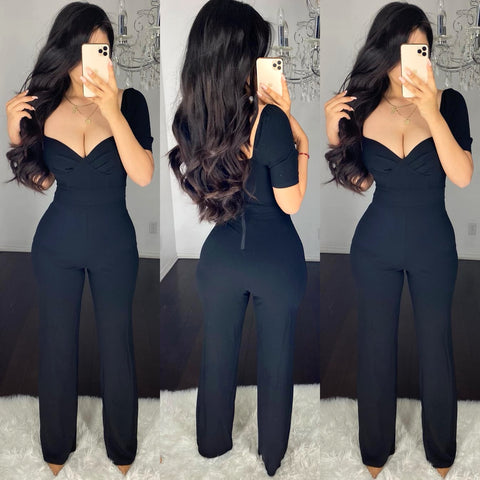 Coley (Black) Couture Jumpsuit
