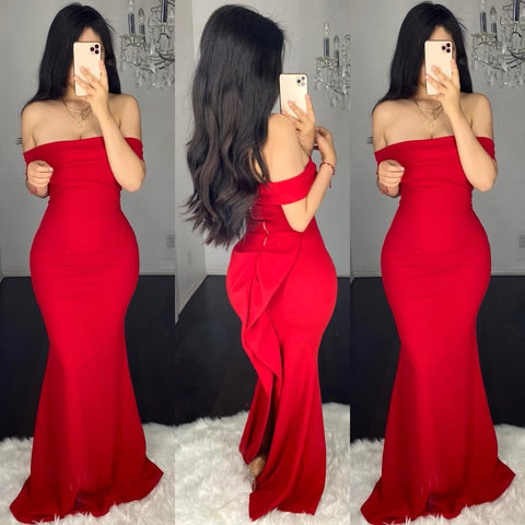 Amari (Red) Gown