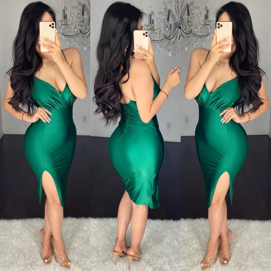 Zulema (Emerald) Dress