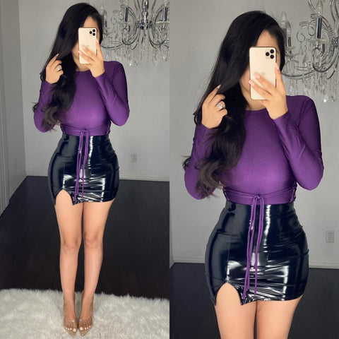 Minerva (Purple) Bodysuit