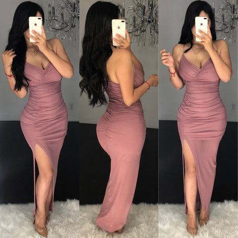 Coquina (Mauve) Dress