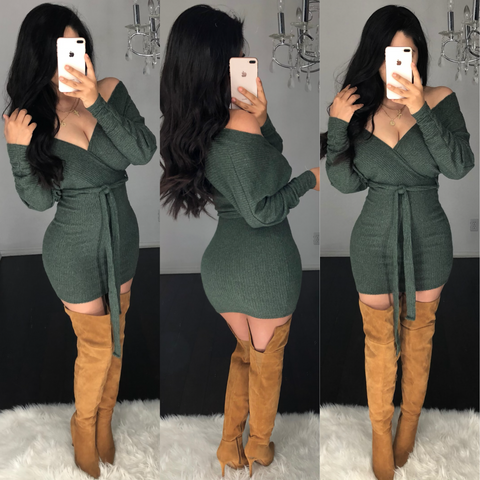 Addison Mini Sweater Dress
