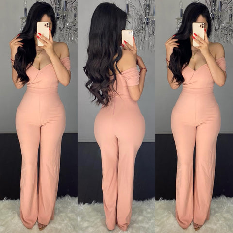 Aurelia (Rose) Couture Jumpsuit