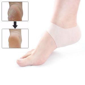 Silicone Gel Heel & Ankle Sleeve for Plantar Fasciitis
